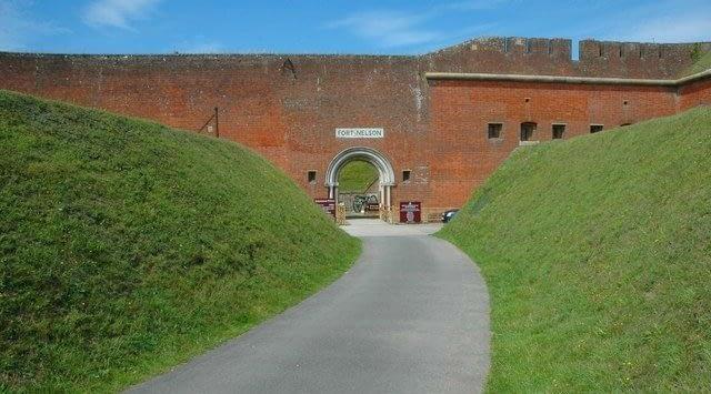 Fort Nelson on Portsdown Hill