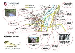 Map Of Droxford Village